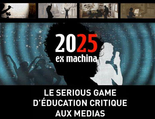 affiche du sérious game exmachina 2025